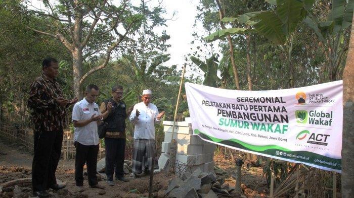 Bangun Ribuan Sumur Wakaf-ACT, Solusi Jangka Panjang Kekeringan di Berbagai Daerah