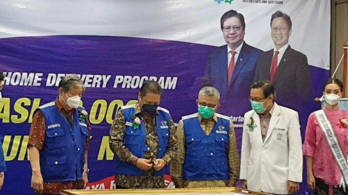 """peluncuran """"Program Home Care & Home Delivery Vaksinasi 10.000 Lansia untuk Negara"""