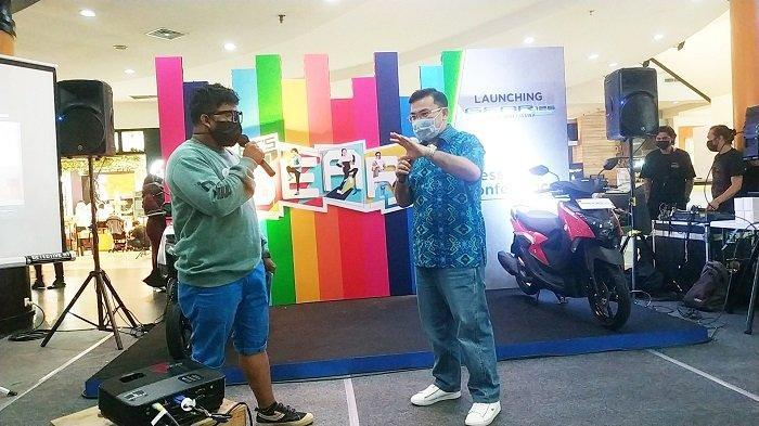 Kenalkan Yamaha Gear 125 CC di Banjarmasin, Branch Manager Yamaha Kalselteng Optimistis Tembus Pasar