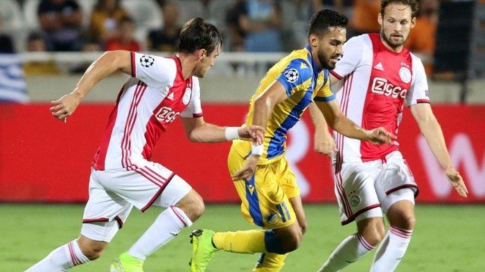 Hasil Kualifikasi Liga Champions 2019-2020 - Ajax Kewalahan & Mignolet Makin Dekat Hadapi Liverpool