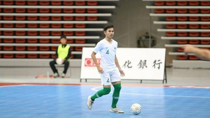 Membanggakan, Pemain Futsal Asal Kalsel M Syaifullah Masuk Daftar Dream Team AFC U-20
