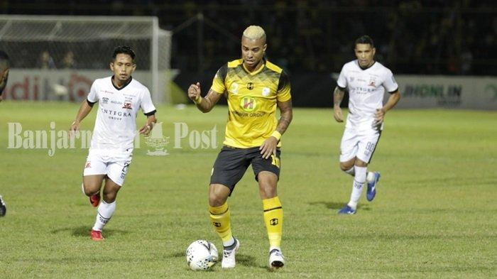 Hasil Barito Putera vs Madura United Liga 1 2019 : Skor Sementara 0-1, Andik Bawa Madura Unggul