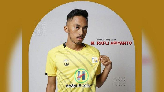Pemain muda Barito Putera, M Rafli Ariyanto berulang tahun ke-20, Senin (17/5/2021).