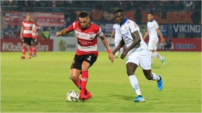Hasil Liga 1 Madura United vs PSM Makassar, Skor 0-1 di Babak Pertama, Ilham Udin Cetak Gol