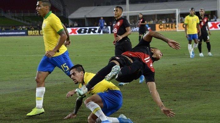 Hasil Uji Coba Brasil Vs Peru, Neymar Main Tim Samba Derita Kekalahan, Skor Akhir 0-1
