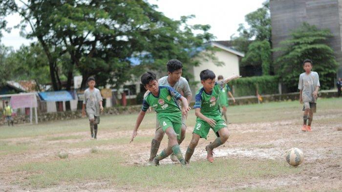 SSB Alam Hijau Banjarmasin Juara III di Samarinda Soccer Seven Cup U13