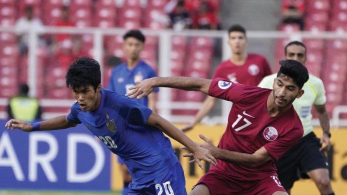 Ternyata Thailand Lebih Merana dari Timnas U-19 Indonesia saat Bertemu Qatar