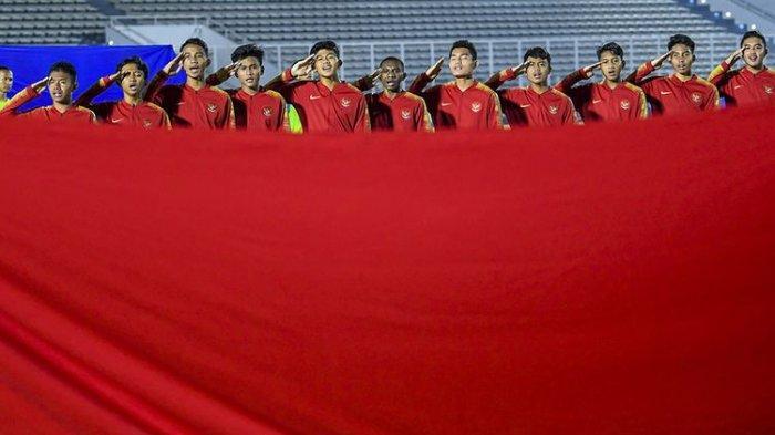 SESAAT LAGI! Link Live Streaming TV Online RCTI & Mola TV Timnas U-16 Indonesia vs China Piala Asia