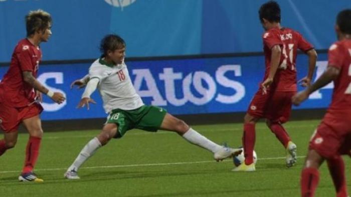SKOR 1-0! Link TV Online Indosiar Timnas U-23 Indonesia vs Tira Persikabo, Gol Kadek Agung