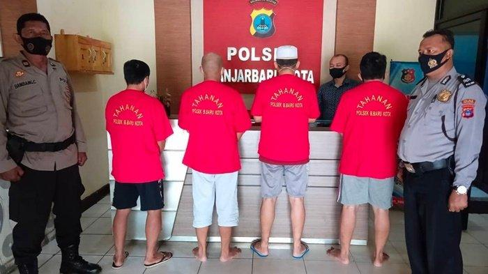 Polsek Banjarbaru Kota Bekuk Empat Pelaku Pemalsuan Surat IMB