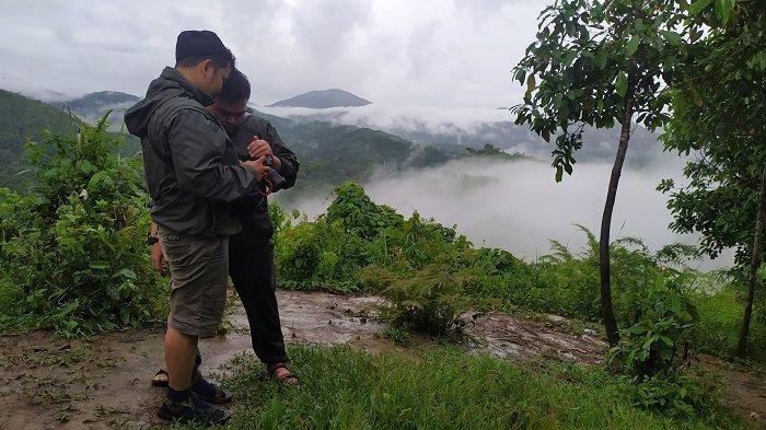 Kemping di Puncak Arta Aranio Kabupaten Banjar, Wisatawan Bisa Saksikan Pemandangan Eksotis