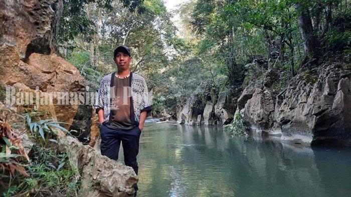 Batu Badinding, Pemandian Alam Nan Mempesona di Liyu Kalsel