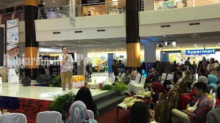 IKMA Kemenperin Harapkan Milenial Banjarmasin Melek Bisnis Kreatif Kain Sasirangan