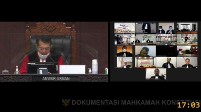 BREAKING NEWS : Sengketa Pilgub Kalsel 2020, MK Putuskan Pemungutan Suara Ulang di 7 Kecamatan