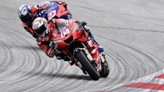 Hasil Klasemen MotoGP 2020: Persaingan Memanas, Dovizioso Terpaut 3 Poin dengan Quartararo, Rossi?