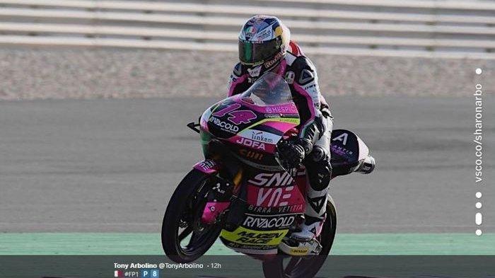 Hasil MotoGP Andalusia 2020 : Murid Valentino Rossi Finish ke-3 di Moto3, Tatsuki Suzuki Tercepat