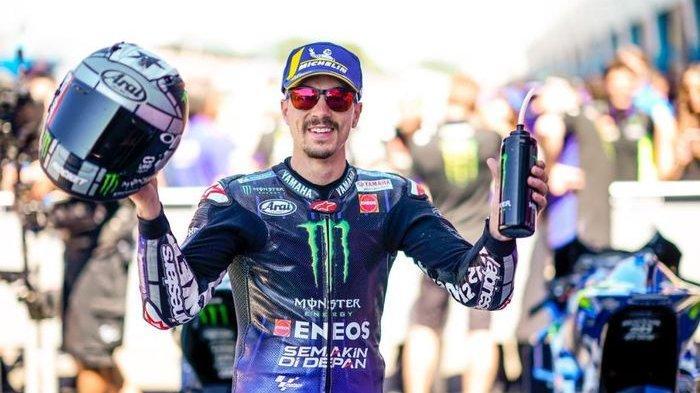 Jelang MotoGP San Marino 2019 - Maverick Vinales Bertekad Menjadi Pembalap Nomor Satu di Yamaha