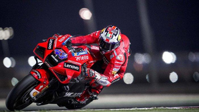 Hasil FP2 MotoGP Qatar 2021 : Ducati Dominan, Valentino Rossi Finish Posisi 10 Besar