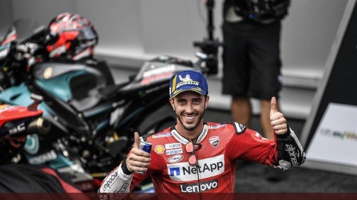 Andrea Dovizioso Datang Kru Fabio Quartararo : Berdampak Penting Di Kejuaraan Dunia MotoGP 2022