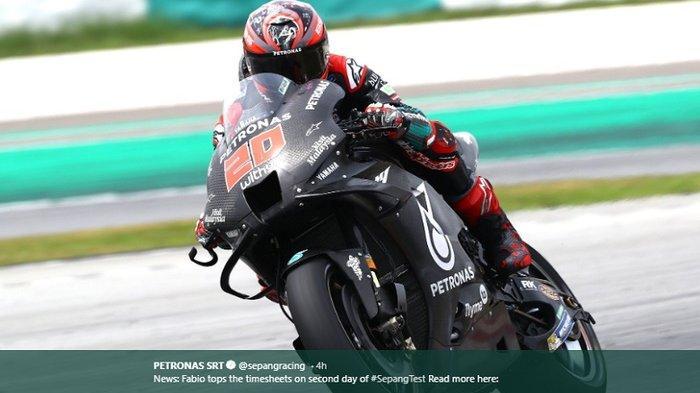 Setelah Tes Pramusim MotoGP 2020, Fabio Quartararo dan Franco Morbidelli Dipuji Bos Yamaha