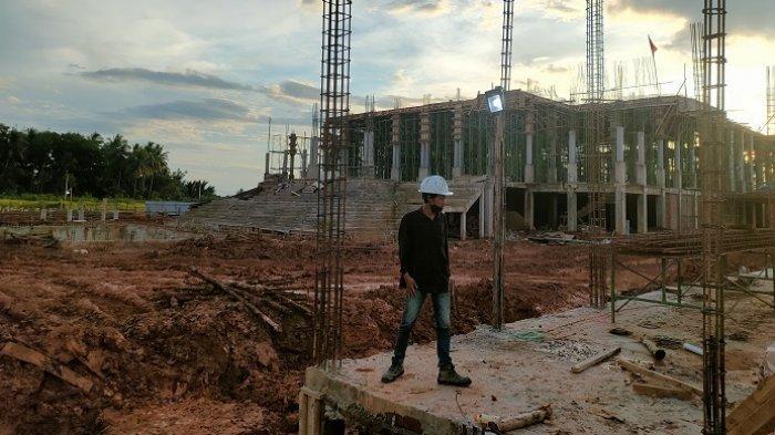 Pembangunan Islamic Center HSS Bertahap, Tahun Depan Direncanakan Dibangun Danau