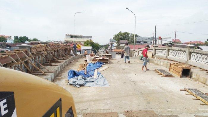 Jembatan Banjar Indah Raya Bakal Bisa Dilalui Akhir Bulan ini