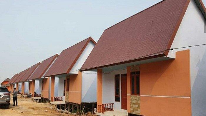 Ilustrasi - Pembangunan rumah subsidi di Banjarmasin.
