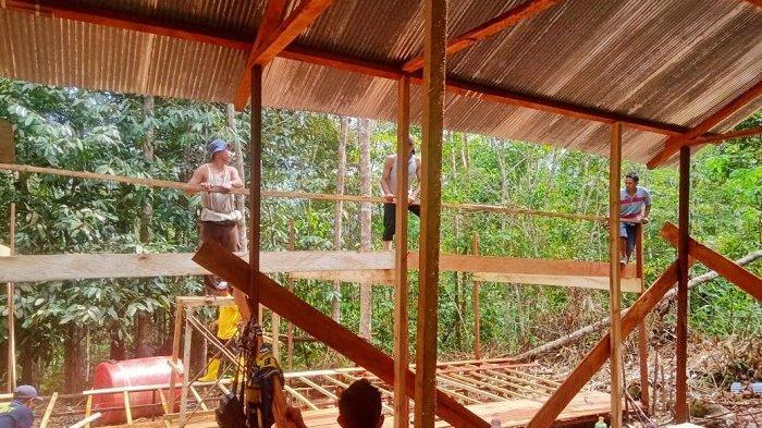 Bakal Jadi Tempat Evakuasi, Relawan Hadapi Masalah Ini Saat Membangun Shelter di Papagaran HST
