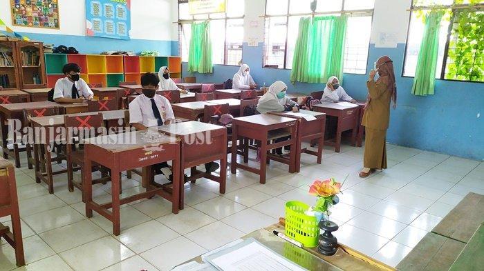 Tunggu PPKM di Banjarmasin Selesai, Pembelajaran Tatap Muka Akan Diterapkan