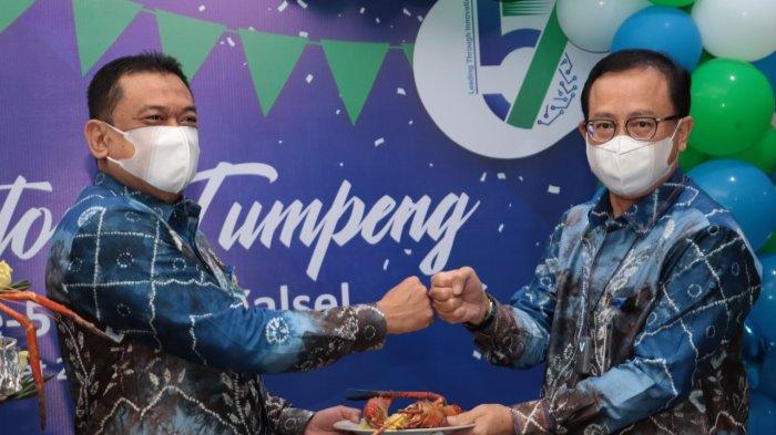 Perayaan HUT ke-57, Bank Kalsel Adakan Syukuran dan Potong Tumpeng