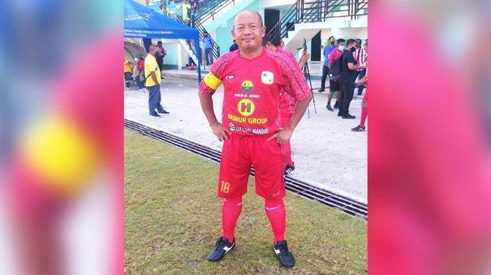 Gol H Agus Prasetya Bawa Barito Putera Legends ke Babak Final Festival Sepakbola Legend U45