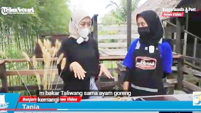 Dapoer Everywhere, Ayam Bakar Taliwang dan Ayam Goreng Kemangi ala Mbaroh Banjarbaru