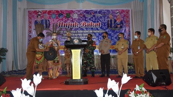 Pemkab Kapuas Gelar Pemilihan Jagau Linga dan Bawi Kameluh Pariwisata Kapuas 2021