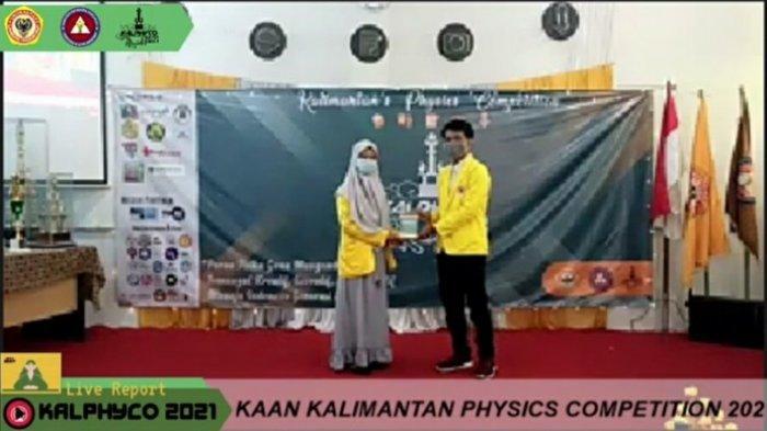 Digelar Secara Daring, Fakultas MIPA ULM Buka Acara Kalimantan's Physics Competition 2021