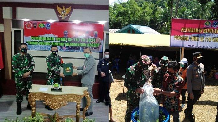 TMMD ke-110 di Kabupaten Hulu Sungai Selatan Resmi Dibuka