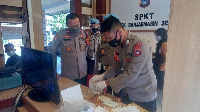 Bid Propam Polda Kalsel Tes Urine Personel Polsekta Banjarmasin Selatan, Begini Hasilnya