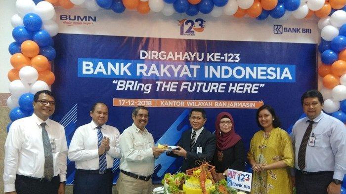 Potong Tumpang, Syukuran Milad Bank BRI Banjarmasin Berlangsung Hikmat