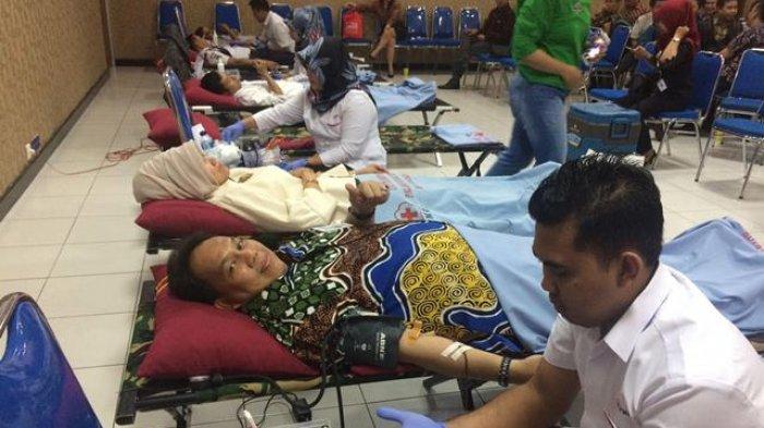 Selain Darah Gratis, PMI Banjarmasin Dapatkan Bantuan Puluhan Juta Rupiah dari BRI