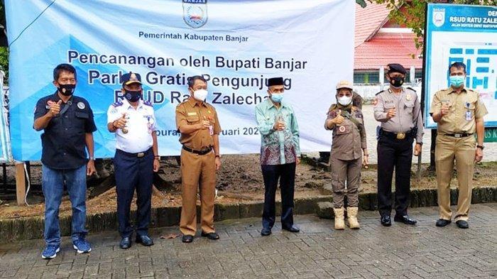 Biaya Parkir di RSUD Ratu Zaleha Martapura Digratiskan Pemkab Banjar