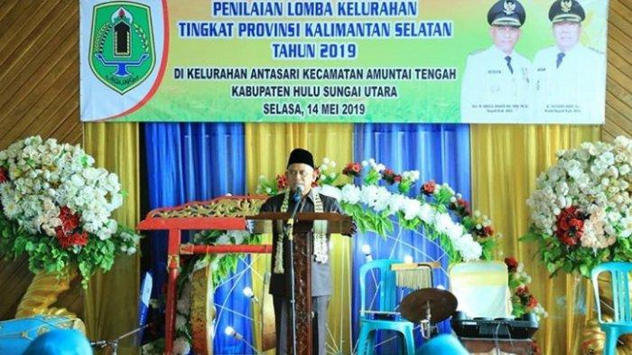 Bupati Sebut Kelurahan Antasari Miliki Keunggulan, Wakil HSU Lomba Kelurahan Tingkat Provinsi