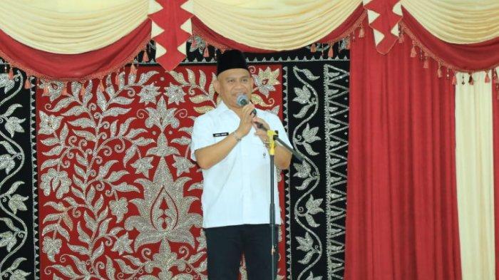 Terima Kunjungan Yayasan Kanker Indonesia Kalsel, ini yang Disampaikan Bupati Wahid