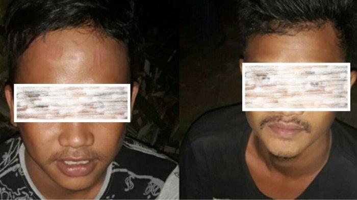 Empat Pemuda Mabuk Oplosan Dibekuk di Pinggir Jalan Sungai Raya HSS