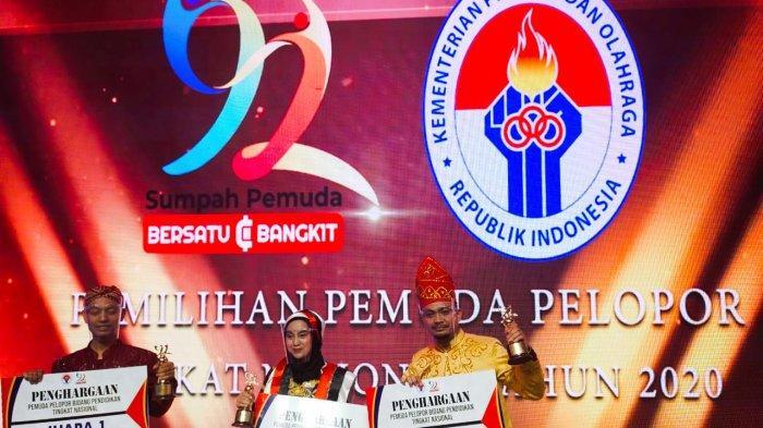 Pemuda Tala Ini Ukir Prestasi Nasional, Raih Posisi Kedua Pemuda Pelopor 2020