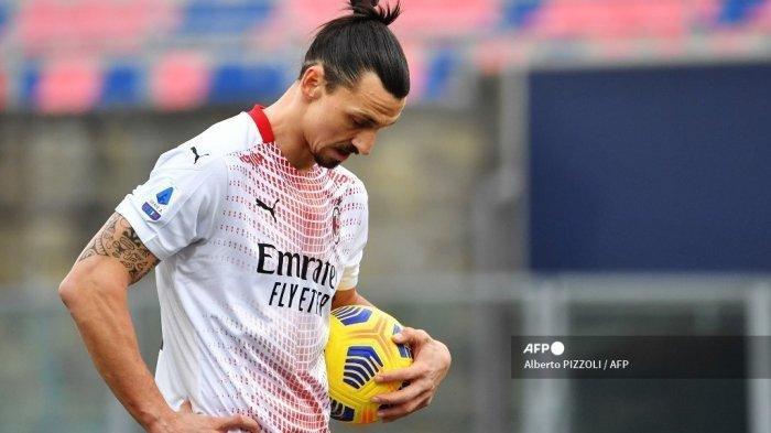 Susunan Pemain AC Milan vs Benevento Liga Italia Live Bein Sports 2, Zlatan Ibrahimovic Main