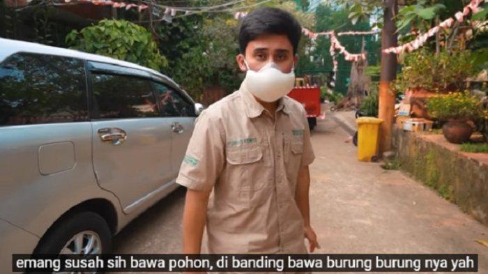 Penampakan luar aviary Irfan Hakim