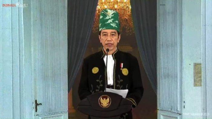 Filosofi Baju Adat Tanah Bumbu, Dipakai Presiden Jokowi di Upacara Hari Lahir Pancasila Hari Ini