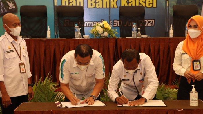 Mudahkan Warga Peroleh Gas LPG, Pemkab Tala dan Bank Kalsel Terbitkan Kartu Kendali
