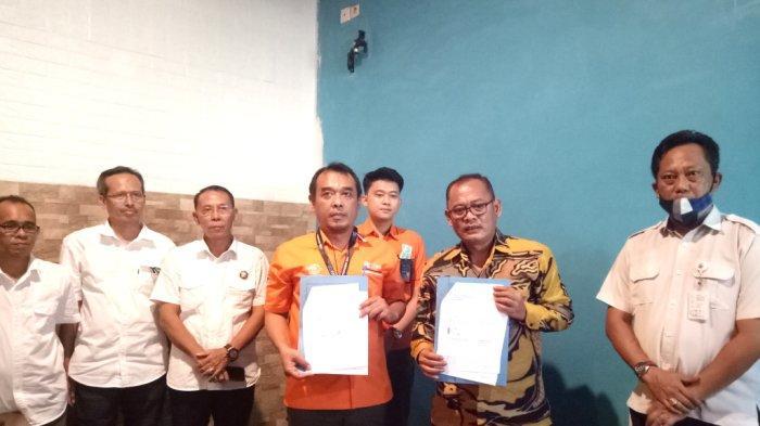 Lanjutkan Kerjasama Dengan PT Pos Indonesia, Ini Alasan Direktur PDAM Kotabaru