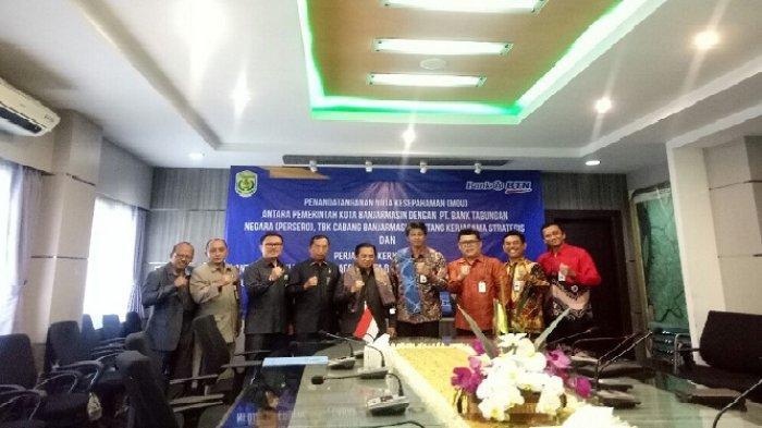 BTN Cabang Banjarmasin Jalin Kerjasama Strategis dengan Pemko Banjarmasin
