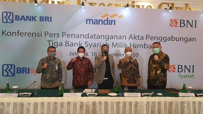 Akta Merger Ditandatangani,Tiga Bank Syariah Kini Resmi Bergabung